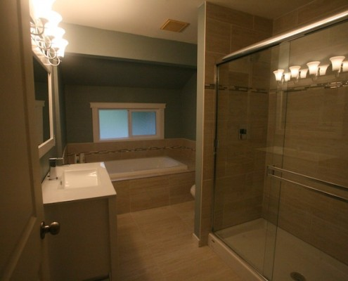 hometeam project port coquitlam bathroom renovation JJ's Custom plumbing